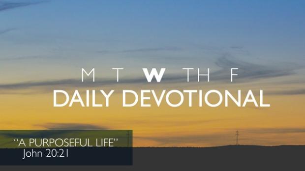 Wednesday Devotional