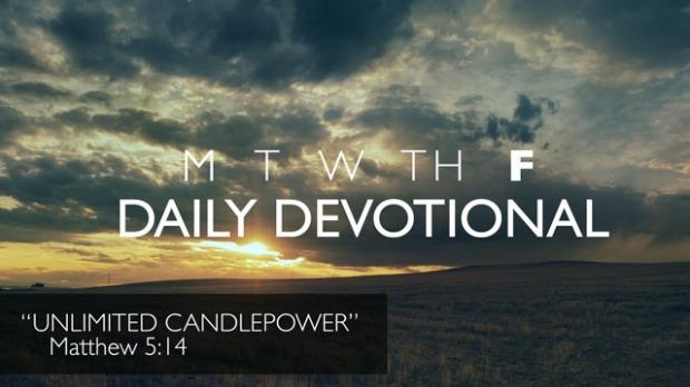 Friday Devotional