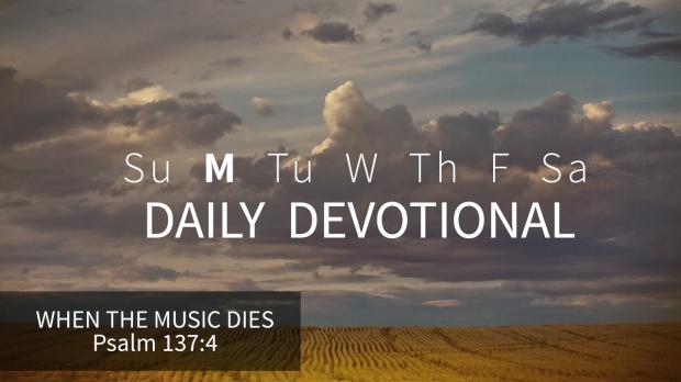 1 Daily Devotional Monday