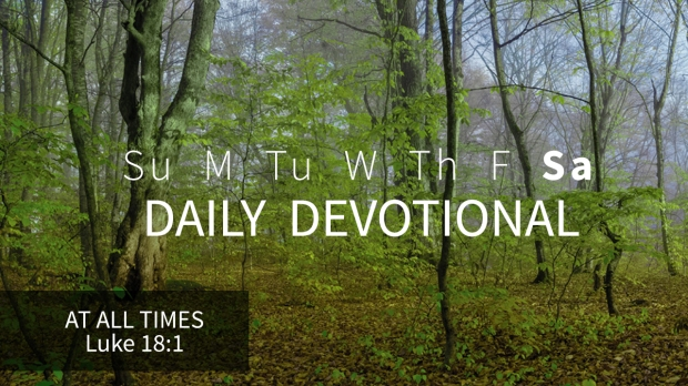 6 Daily Devotional Saturday