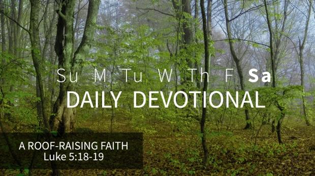 6 Daily Devotional Saturday