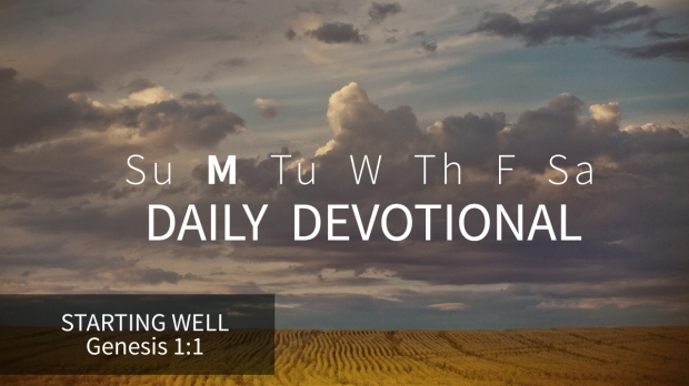 1 Daily Devotional Monday
