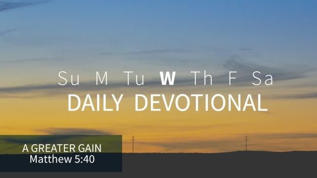 3 daily devotional wednesday