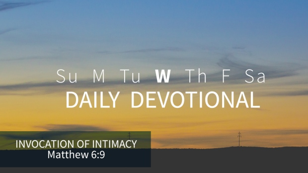 3 Daily Devotional Wednesday