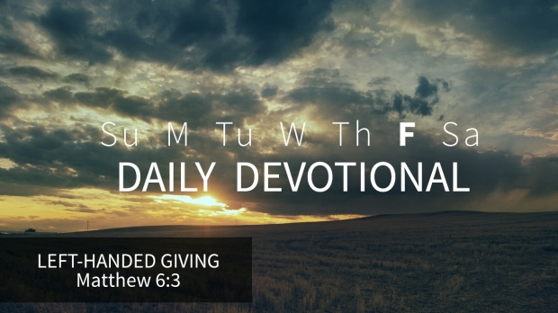 5 Daily Devotional Friday