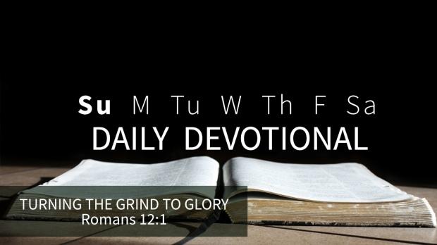 7 Daily Devotional Sunday