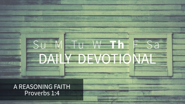 4 Daily Devotional Thursday
