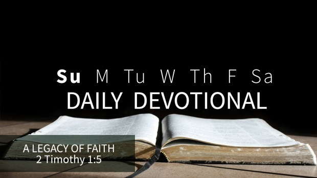 7 Daily Devotional Sunday